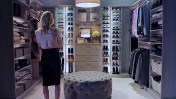 Inspired Closets TV Spot, 'Interview Inspiration' - 393 commercial airings