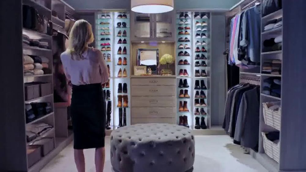 Inspired closets tv commercial 39 interview inspiration for Inspired closets