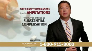 Goldwater Law Firm TV Spot, 'Diabetes Amputations' - Thumbnail 4
