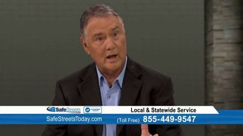 Safe Streets USA TV Spot, 'Home Security Bulletin: ADT' Feat. Danny White