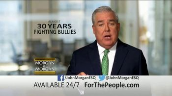 Morgan and Morgan Law Firm TV Spot, 'Fighting Bullies' - Thumbnail 9