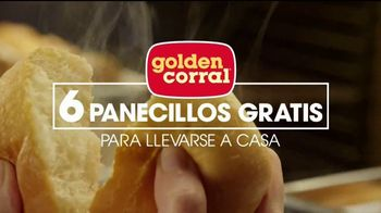 Golden Corral Smokehouse TV Spot, 'Free Yeast Rolls' [Spanish] - 326 commercial airings