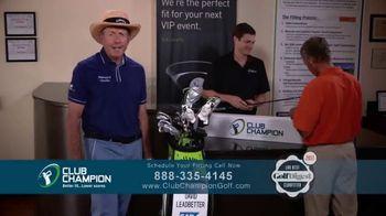 Club Champion TV Spot, 'Get a Club Fitting' Featuring David Leadbetter - Thumbnail 10