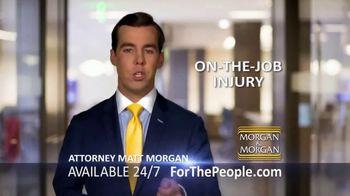 Morgan and Morgan Law Firm TV Spot, 'On-The-Job Injury' - Thumbnail 2