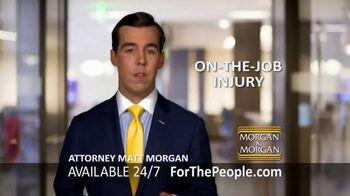 Morgan and Morgan Law Firm TV Spot, 'On-The-Job Injury' - Thumbnail 3