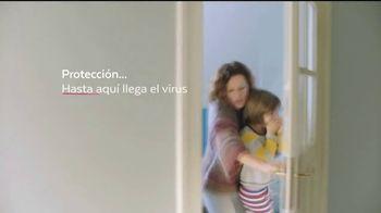 Lysol Disinfecting Spray TV Spot, 'Hasta aquí llega el virus' [Spanish] - Thumbnail 5