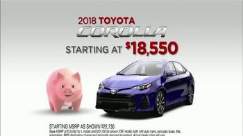 2018 Toyota Corolla TV Spot, 'Save on Safety: Piggy Bank' [T1] - Thumbnail 9