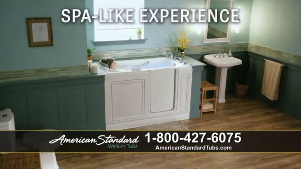 American Standard Walk-In Tubs TV Commercial, \'Stay Safe\' - iSpot.tv