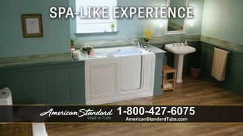 American Standard Walk-In Tubs TV Spot, 'Stay Safe'