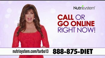 Nutrisystem Turbo13 TV Spot, 'Boost Your Metabolism' Featuring Marie Osmond - 800 commercial airings