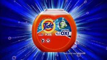 Tide PODS TV Spot, 'Ultra Oxi for Stains