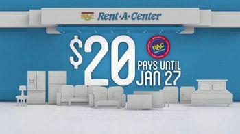 Rent-A-Center TV Spot, '$20 Until Jan. 27'