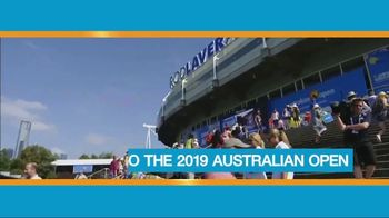 Tennis Channel Australian Open Sweepstakes TV Spot, 'Dream Vacation' - Thumbnail 4