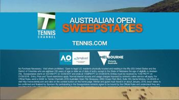 Tennis Channel Australian Open Sweepstakes TV Spot, 'Dream Vacation' - Thumbnail 6