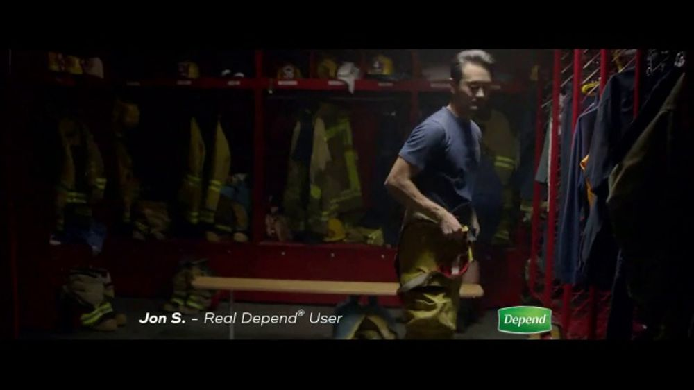 Depend Real Fit Briefs TV Commercial, 'How Jon Keeps Saving the Day'
