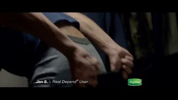 Depend Real Fit Briefs TV Spot, 'How Jon Keeps Saving the Day' - Thumbnail 4