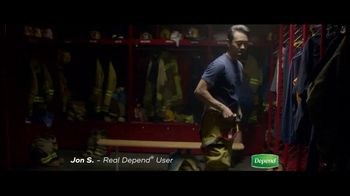 Depend Real Fit Briefs TV Spot, 'How Jon Keeps Saving the Day' - 4235 commercial airings