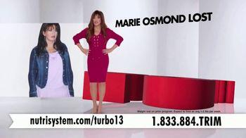 Nutrisystem Turbo 13 TV Spot, 'Drop Those Pounds' Featuring Marie Osmond - Thumbnail 5