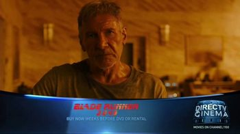 DIRECTV Cinema TV Spot, 'Blade Runner 2049' - Thumbnail 2