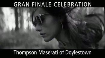 Maserati Gran Finale Celebration TV Spot, 'Everything But Ordinary' [T2] - Thumbnail 4