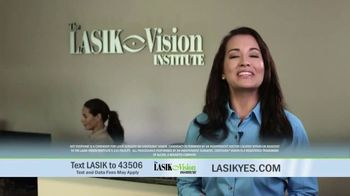 The LASIK Vision Institute Contoura Vision TV Spot, 'New Technology' - Thumbnail 1