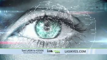 The LASIK Vision Institute Contoura Vision TV Spot, 'New Technology' - Thumbnail 4