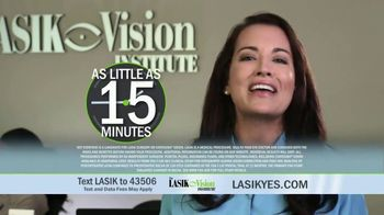 The LASIK Vision Institute Contoura Vision TV Spot, 'New Technology' - Thumbnail 5