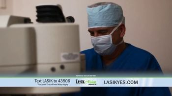 The LASIK Vision Institute Contoura Vision TV Spot, 'New Technology' - Thumbnail 6