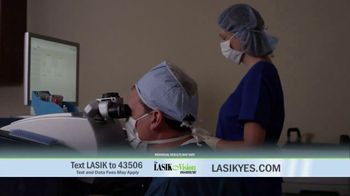 The LASIK Vision Institute Contoura Vision TV Spot, 'New Technology' - Thumbnail 7