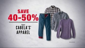 Cabela's Midwinter Clearance Sale TV Spot, 'Sweaters and Base Layers' - Thumbnail 5