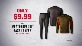 Cabela's Midwinter Clearance Sale TV Spot, 'Sweaters and Base Layers' - Thumbnail 6