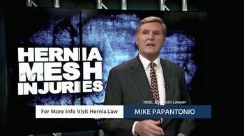 Levin Papantonio TV Spot, 'Hernia Mesh Injuries'