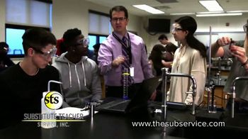 Substitute Teacher Service TV Spot, 'Hiring in Your Area' - Thumbnail 2