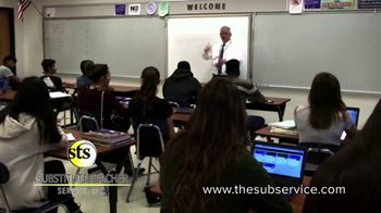 Substitute Teacher Service TV Spot, 'Hiring in Your Area' - Thumbnail 5
