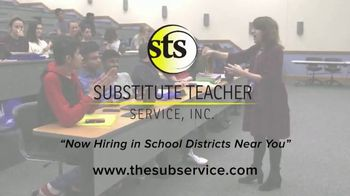 Substitute Teacher Service TV Spot, 'Hiring in Your Area' - Thumbnail 8