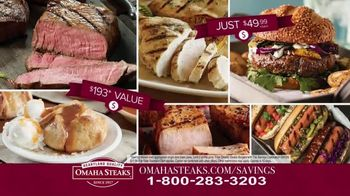 Omaha Steaks Savings Celebration Package TV Spot, 'Hooked' - Thumbnail 9