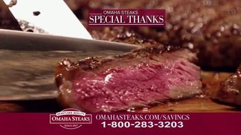 Omaha Steaks Savings Celebration Package TV Spot, 'Hooked' - Thumbnail 7