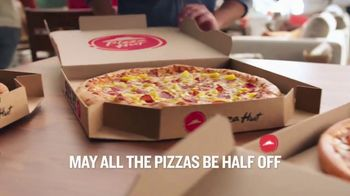 Pizza Hut TV Spot, 'Half Off Pizzas for January'