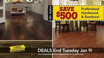 Lumber Liquidators TV Spot, 'The New Year's Makeover Look' - Thumbnail 5
