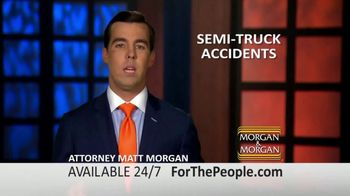 Morgan and Morgan Law Firm TV Spot, 'Semi-Truck Accidents: Advice' - Thumbnail 2