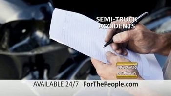 Morgan and Morgan Law Firm TV Spot, 'Semi-Truck Accidents: Advice' - Thumbnail 4