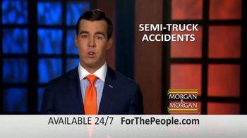 Morgan and Morgan Law Firm TV Spot, 'Semi-Truck Accidents: Advice' - Thumbnail 9