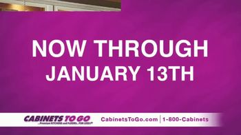 Cabinets To Go Buy One Get One Sale TV Spot, 'Celebrate the New Year' - Thumbnail 2