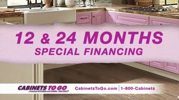 Cabinets To Go Buy One Get One Sale TV Spot, 'Celebrate the New Year' - 99 commercial airings