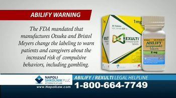 Napoli Shkolnik PLLC TV Spot, 'ABILIFY and REXULTI: Compulsive Gambling' - Thumbnail 3