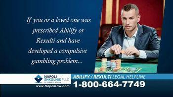 Napoli Shkolnik PLLC TV Spot, 'ABILIFY and REXULTI: Compulsive Gambling' - Thumbnail 7
