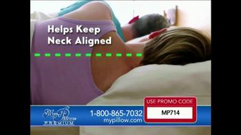 My Pillow Premium TV Spot, 'Deep Sleep: Buy One, Get One Free' - 1247 commercial airings