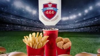 Wendy's 4 for $4 TV Spot, 'Liga 444: ocho opciones ganadoras' [Spanish]