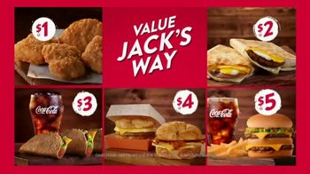 Jack in the Box Value Jack's Way TV Spot, 'Five Great Ways to Save' - Thumbnail 8