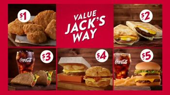 Jack in the Box Value Jack's Way TV Spot, 'Five Great Ways to Save'
